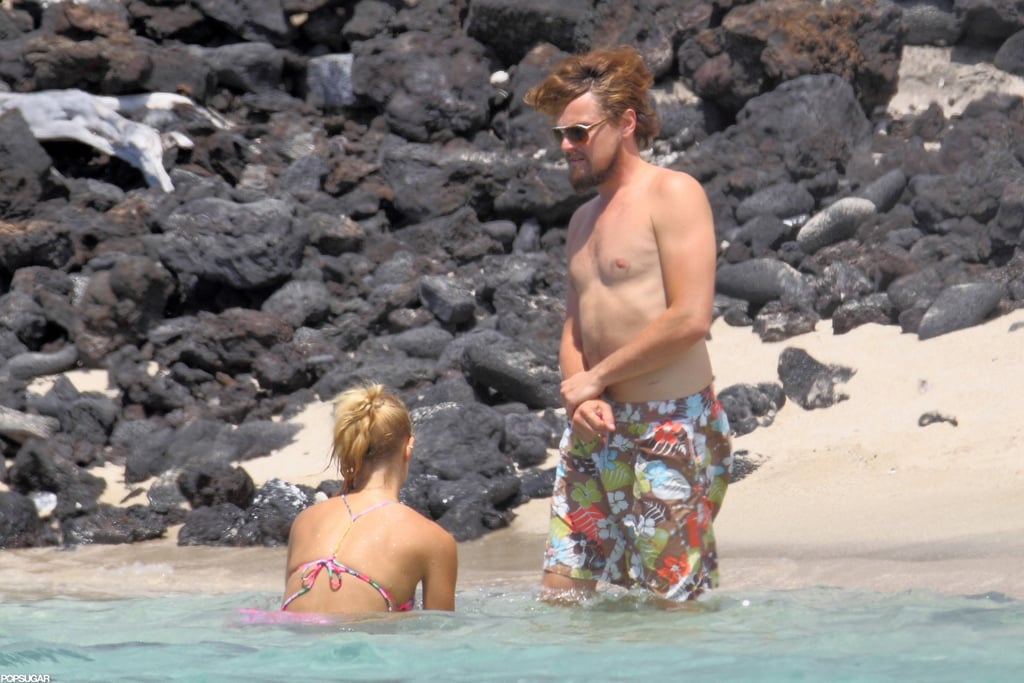 Leonardo DiCaprio went shirtless on the Fourth of July.