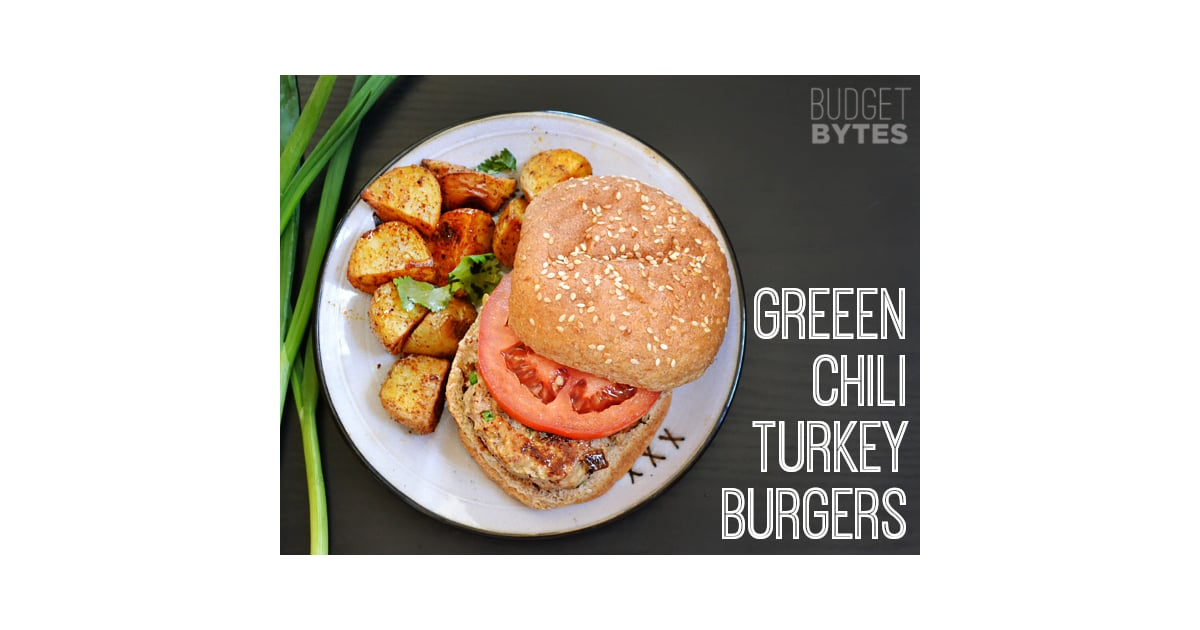 Green Chile Turkey Burgers | Make These 86 Amazing Meals For $5 or ...