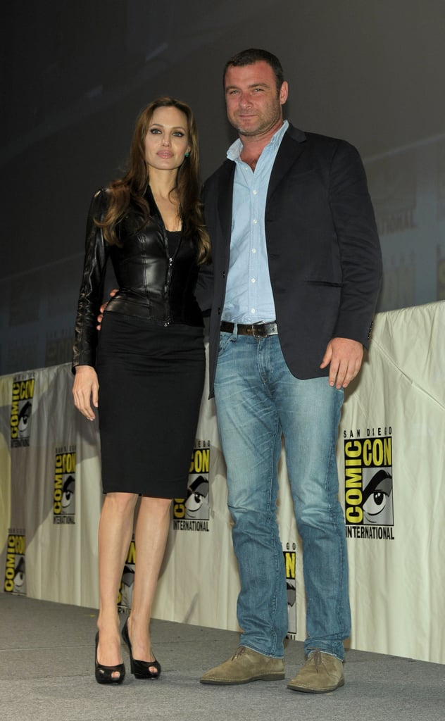 Pictures of Angelina Jolie at Comic Con