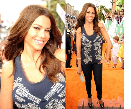 Sofia Vergara at the Kids' Choice Awards 2011