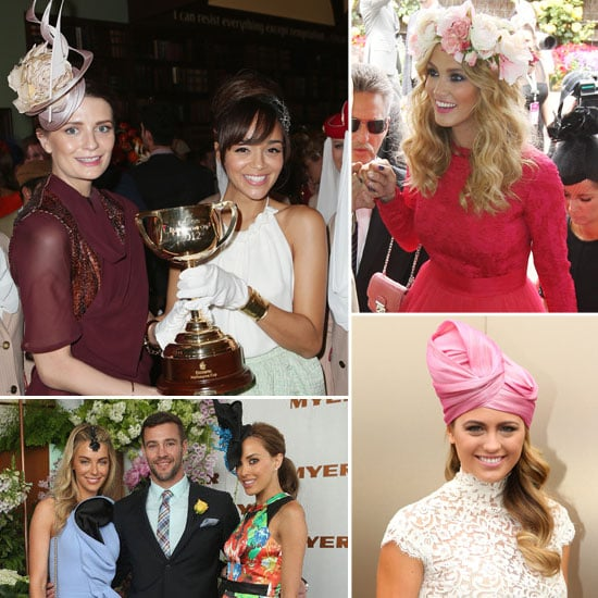 2012 Melbourne Cup: See All the Celebrities So Far!