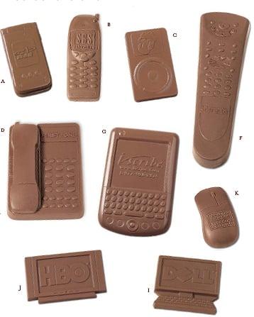Edible Geek: Chocolate Gadgets