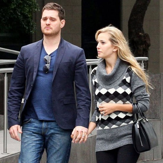 Michael Buble and Luisiana Lopilato in Buenos Aires Pictures