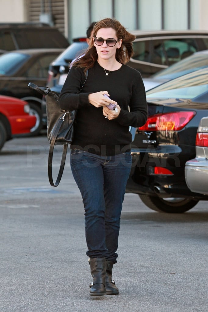 Jennifer Garner stepped out for a midday appointment.