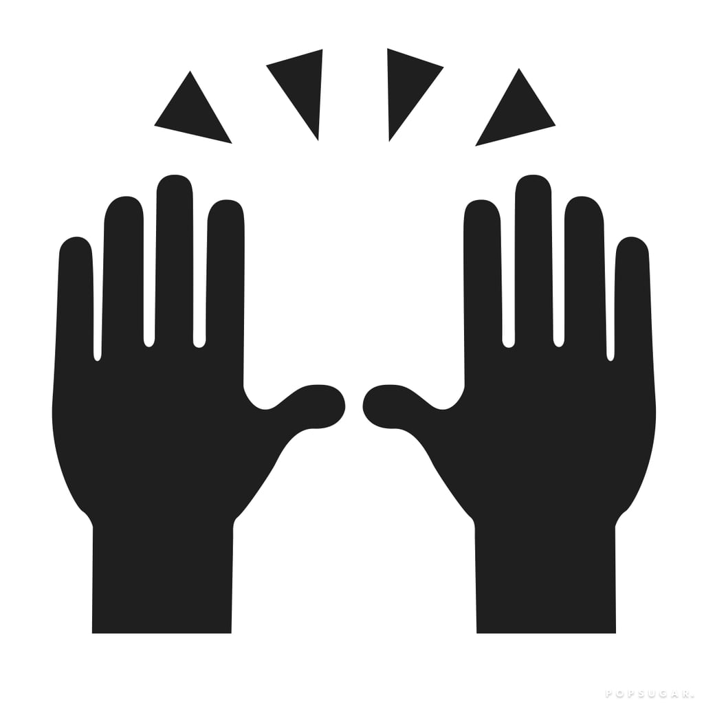 Person Raising Two Hands in Celebration Emoji Templates by Morgan Pugh