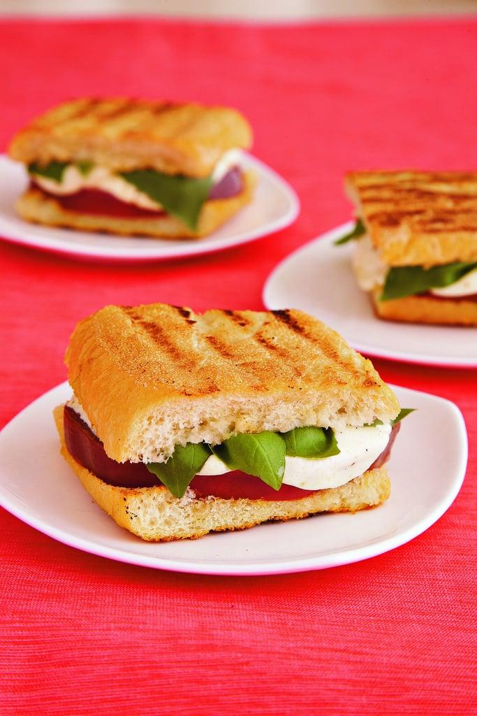 Next-Level Grilled Caprese Sandwich