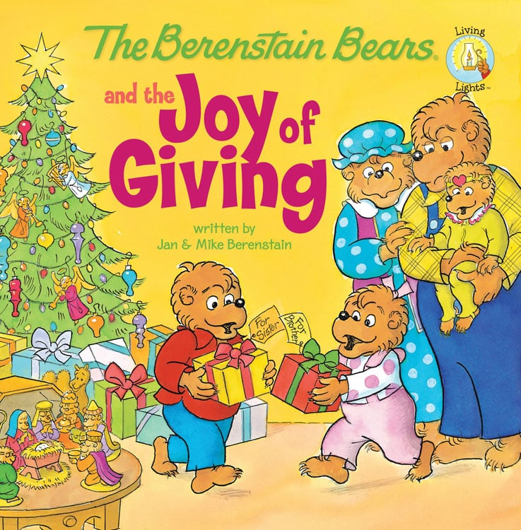 The Berenstain Bears and the Joy of Giving ($2) by Mike and Jan Berenstain follows the beloved bear family through a holiday tale.