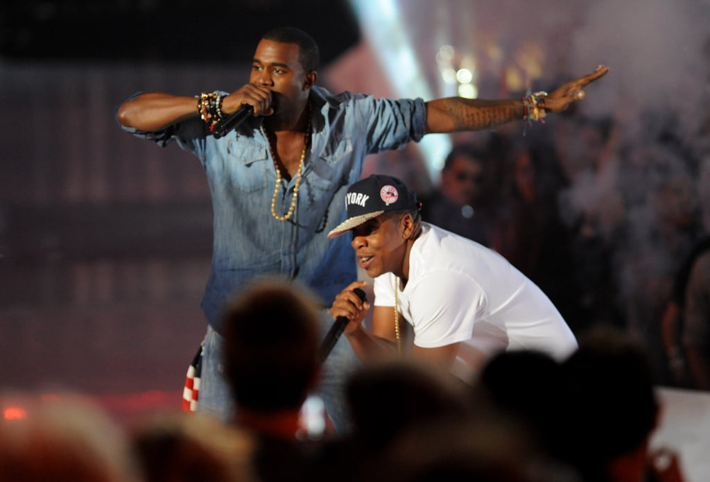 Jay-Z and Kanye West Rock the MTV VMAs With a Surprise Performance