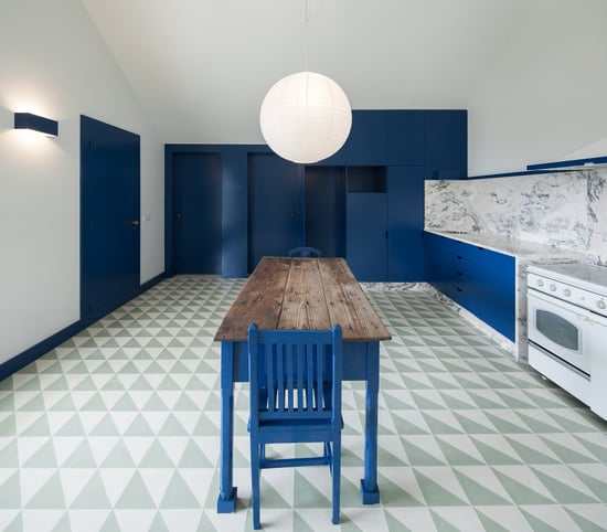 Steal This Look: A Surrealist Farmhouse Kitchen in Portugal