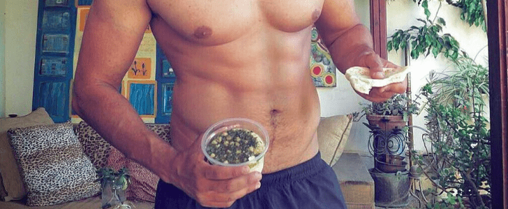 You'll Wish You Were the Pita Bread When You See These Hot Guys Eating Hummus