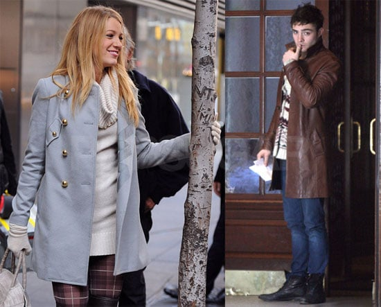 Photos of Gossip Girl on Set in NYC 2009-11-10 11:30:41