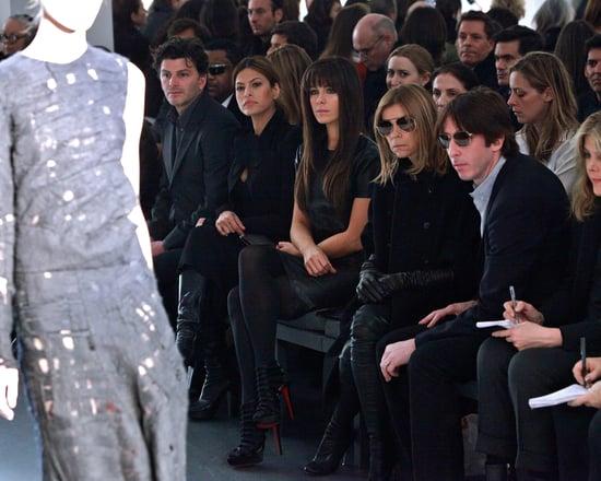 Carine Roitfeld Pulls an Anna Wintour at Calvin Klein