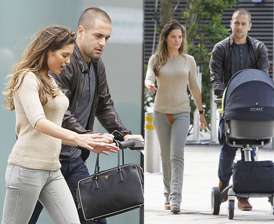 Pictures of Joe Cole and Carly Zucker With Baby Ruby in Liverpool