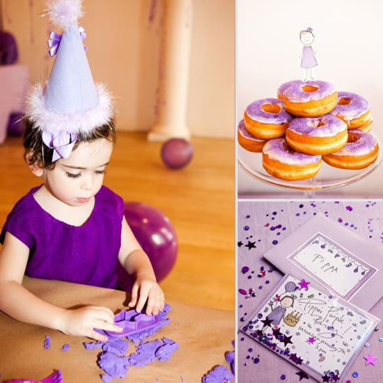 Pippa's Perfectly Purple Party