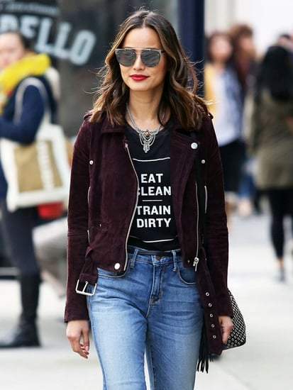 Why You Should Buy Jamie Chung's Under-$200 Moto Jacket