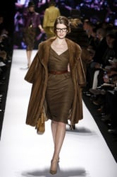 Fur Appears in Autumn Winter 2008 New York Fashion Shows