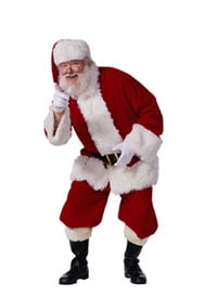 Should Santas in Malls be required to lose weight?