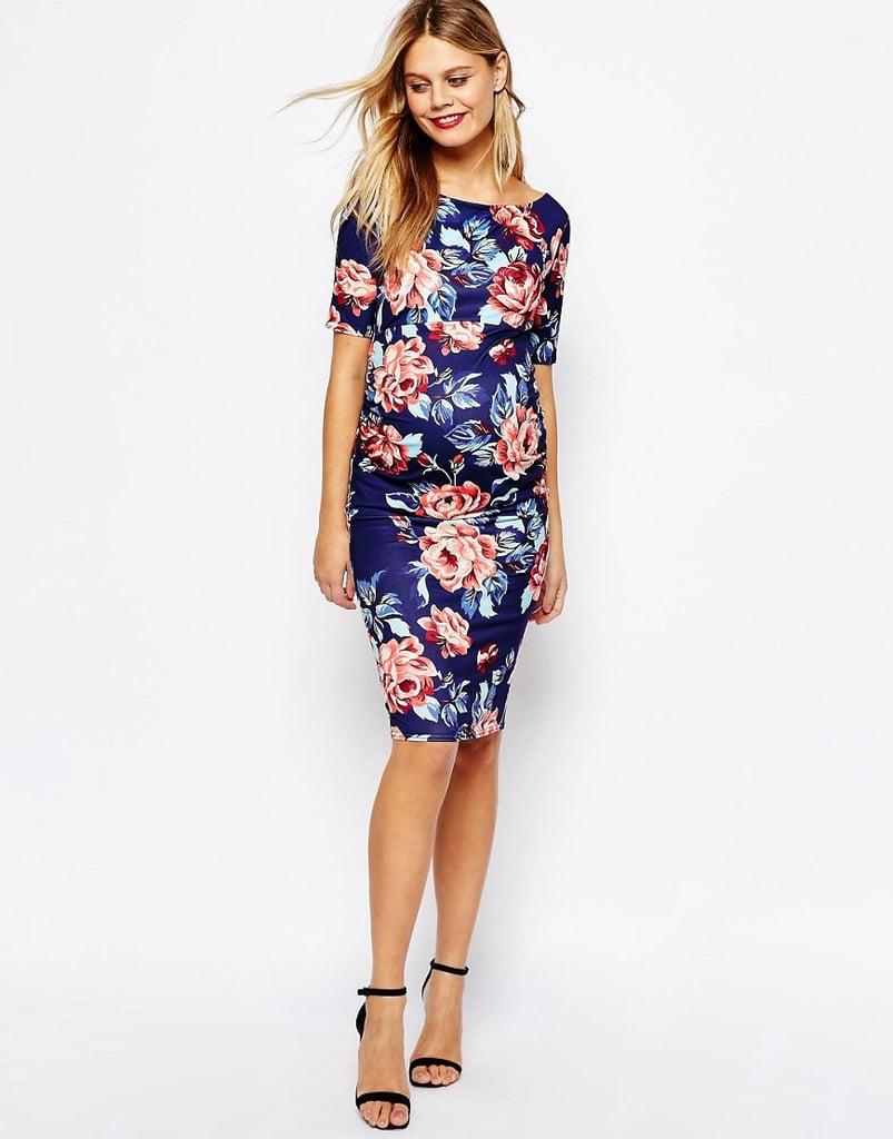 ASOS Bardot Dress With Half Sleeve ($46)