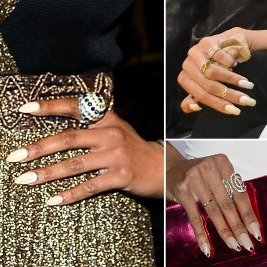 White nail polish doesn't have to look chalky and unnatural. These three women rocked the trend flawlessly.