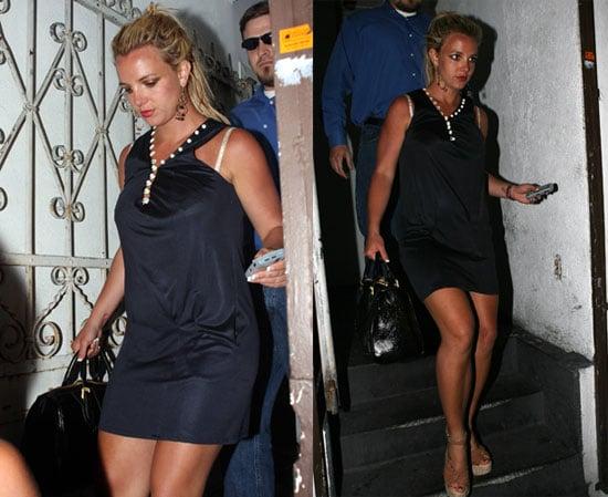 Britney Sur-faces Back In LA