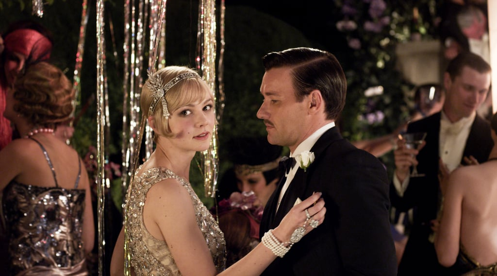 Decked out in sequins, Carey Mulligan makes a strong case for '20s era fashion as Daisy Buchanan.