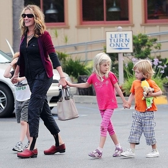 Julia Roberts Pictures With Children Hazel, Phin, and Henry