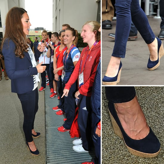 Kate Middleton Stuart Weitzman Wedges Loved by Rebecca Adlington