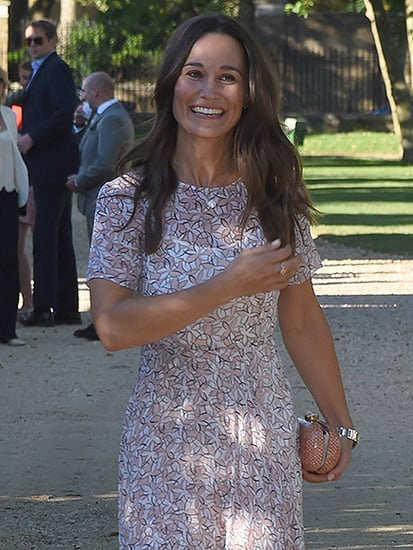 Pippa Middleton Shows off Huge Engagement Ring, Says She 'Couldn't Be Happier'