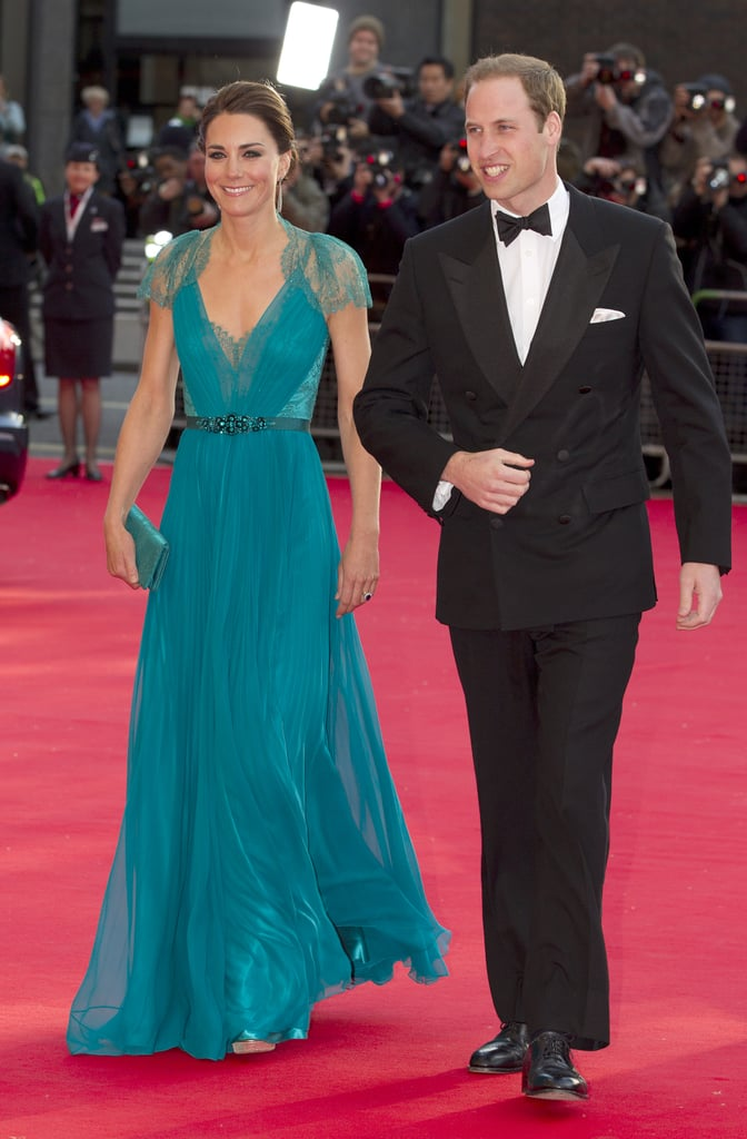 Prince William and Kate Middleton went black tie in May for a Greatest Team Rises concert at London's Royal Albert Hall.