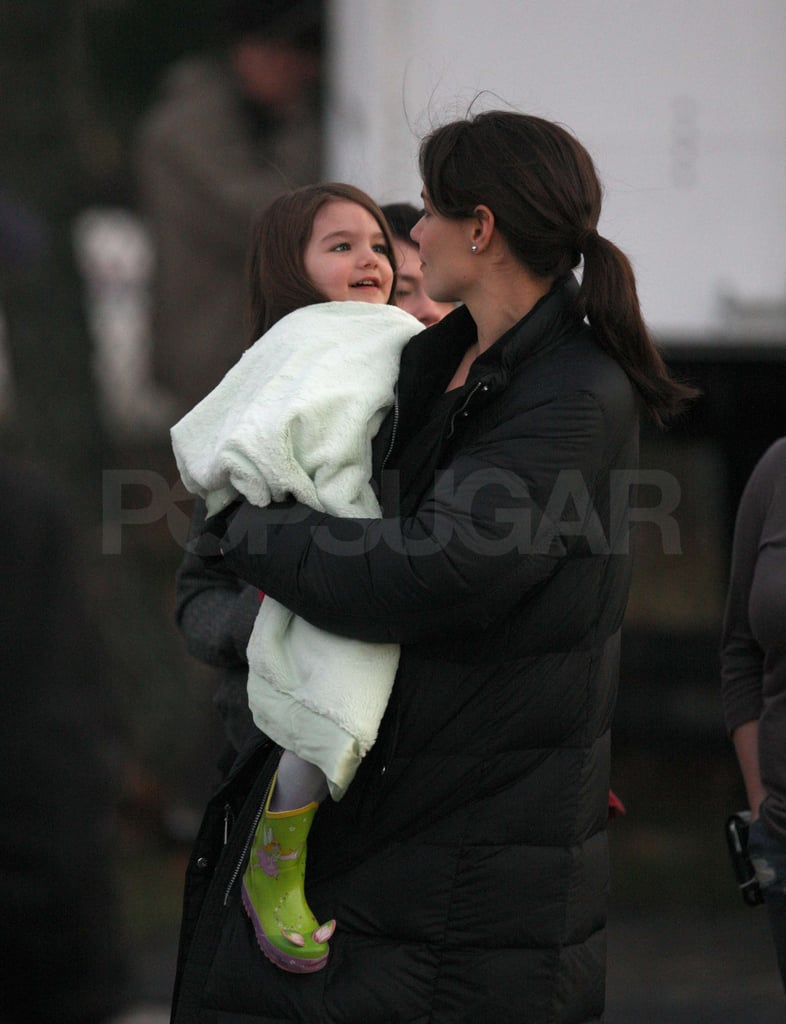 Photos of Tom, Katie and Suri