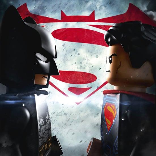Batman v Superman Lego Poster