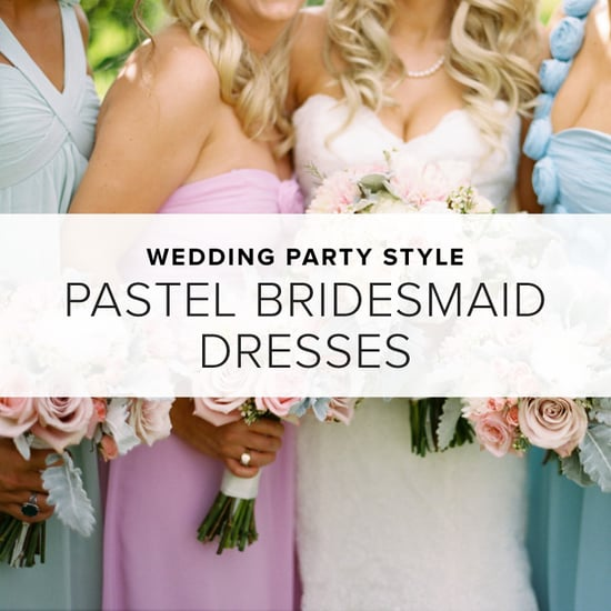 Pastel Bridesmaid Dresses   Shopping
