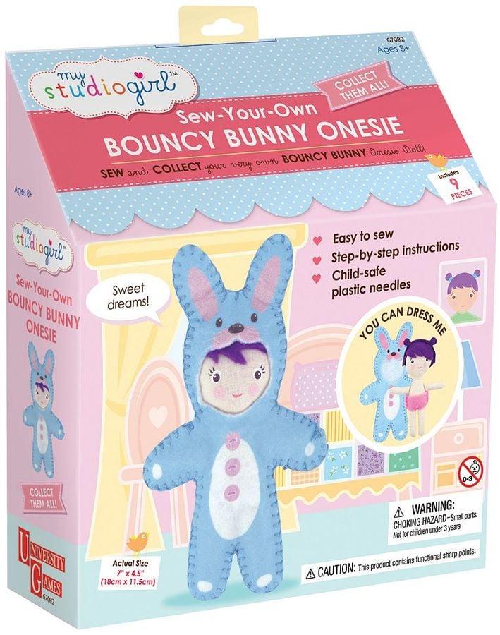 My Studio Girl Sew-Your-Own Bouncy Bunny Onesie