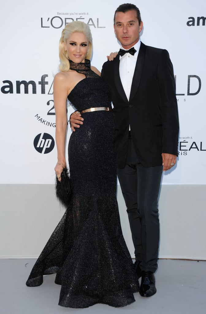 Gwen Stefani and Gavin Rossdale attended amfAR's Cinema Against AIDS Gala in May 2011 in Cannes.