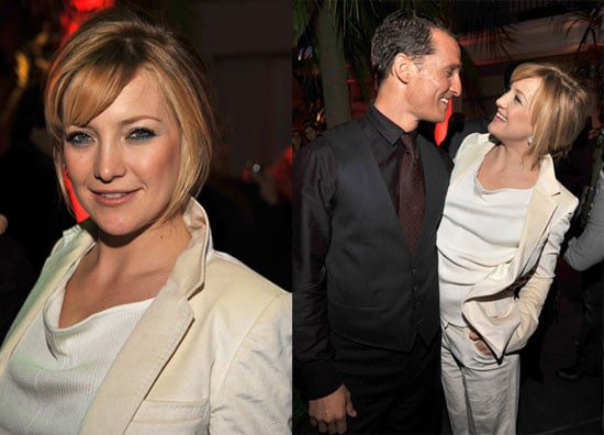 Kate Hudson and Matthew McConaughey at the Fool's Gold After Party