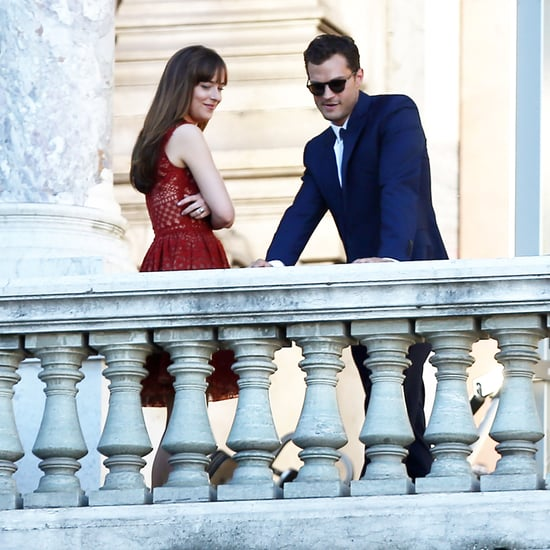 Fifty Shades Freed Set Pictures