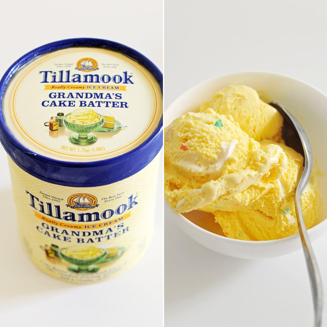 Tillamook Grandma's Cake Batter Ice Cream