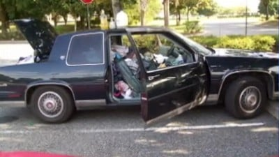 Family Found Living in Filthy Car