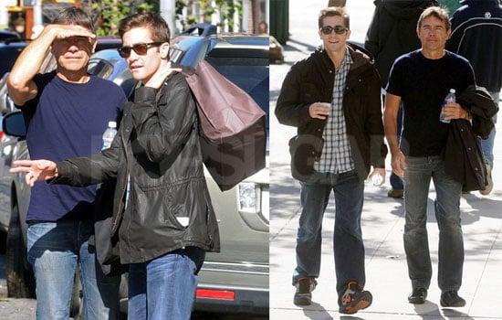 Photos of Jake and Stephen Gyllenhaal Walking in NYC