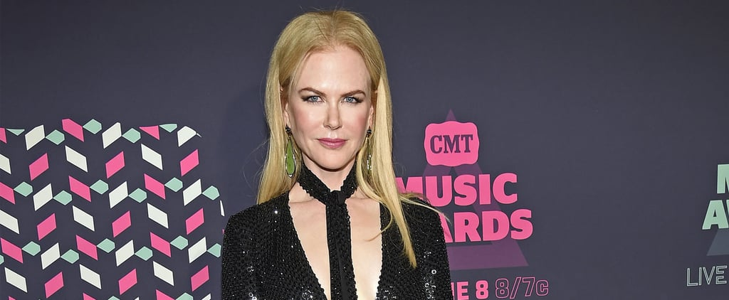 Nicole Kidman Wore the Sexiest Play on a Tie We've Ever Seen to the CMT Awards