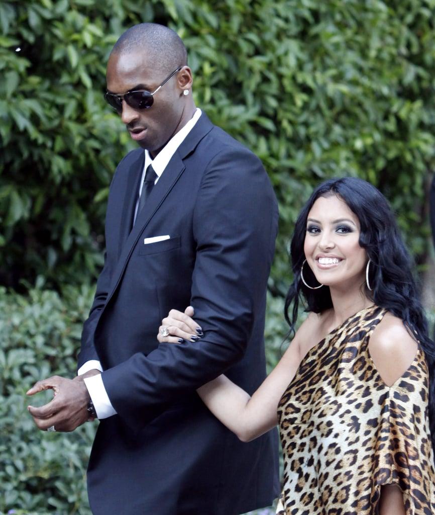 Kobe and Vanessa Bryant attended Khloé Kardashian and Lamar Odom's lavish LA wedding in September 2009.