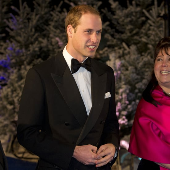 Prince William at Winter Gala Without Kate Middleton