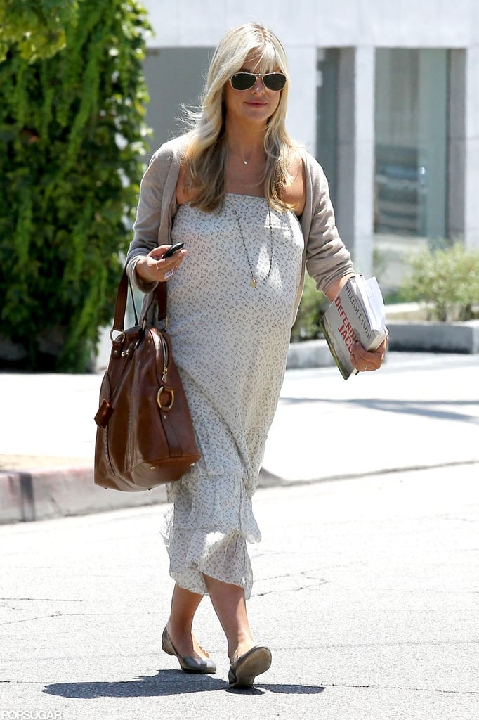 Sarah Michelle Gellar stepped out with her growing baby bump.