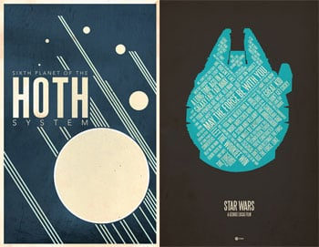 Geeky Posters For Holiday Gifts