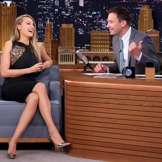 Blake Lively Jimmy Fallon Interview About Harrison Ford