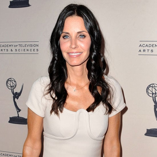 Pictures of Courteney Cox and Josh Hopkins at Cougar Town Event