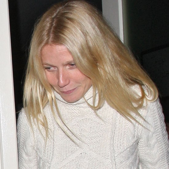 Jacqui Ainsley Gwyneth Paltrow Guy Ritchie Dinner Pictures