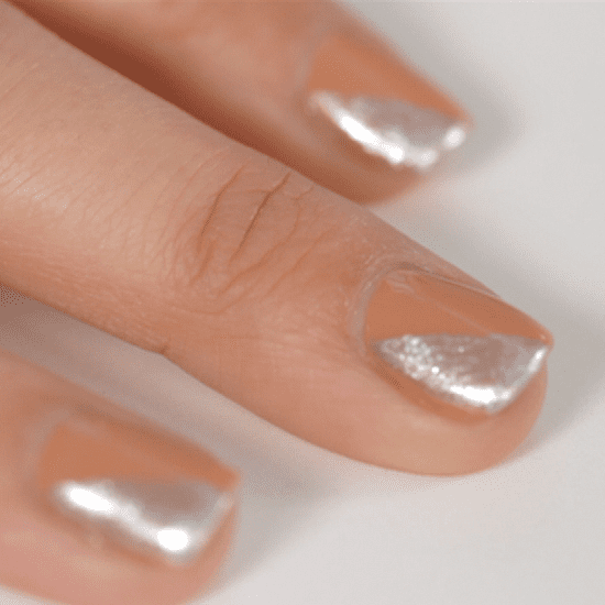 Create a Nude Nail Art Manicure Look in Less Than Five Minutes
