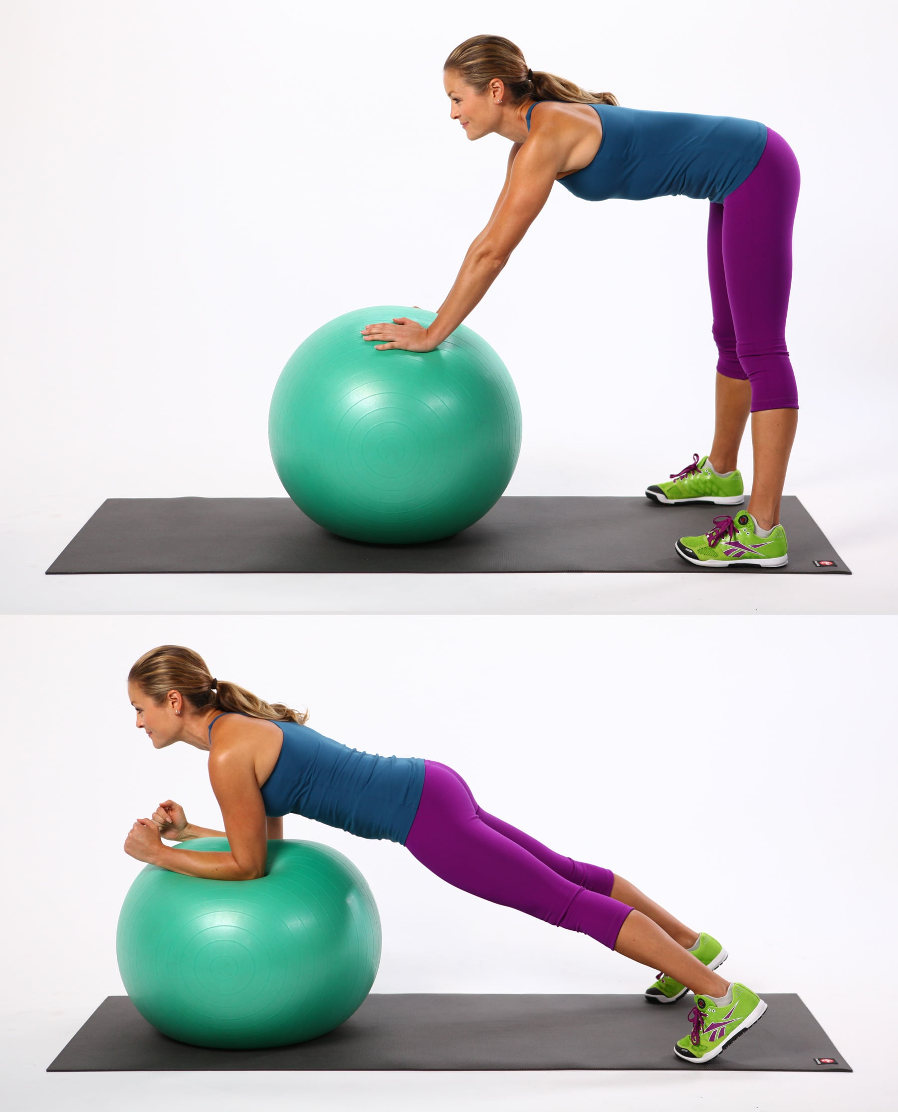 Standing Ab Rollout