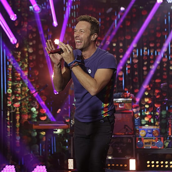 "Coldplay Sings ""Head Full of Dreams"" on The Late Late Show"